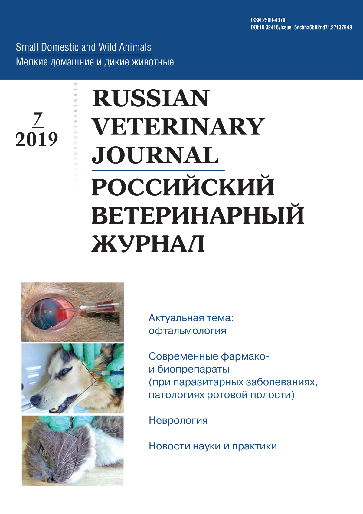 РВЖ МДЖ №7-2019